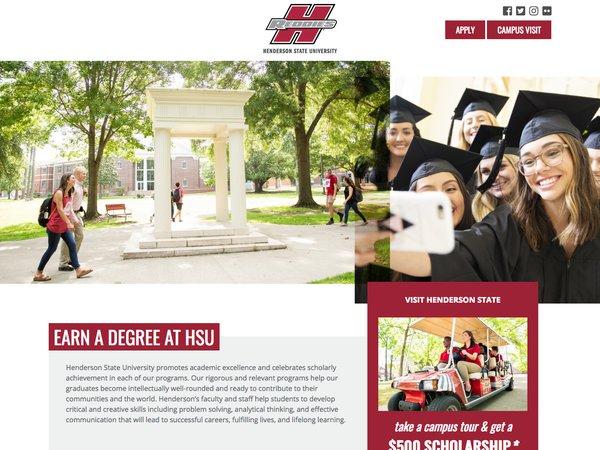 HSU Landing Page