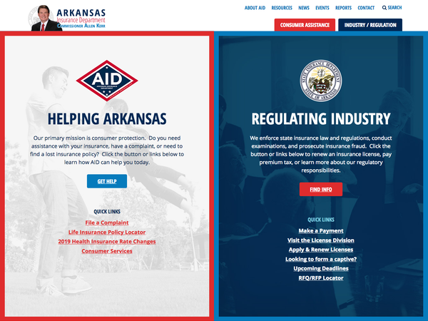 Arkansas Insurance Department